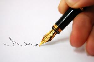 podpis